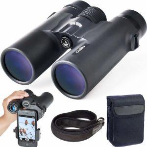 5. Gosky 10x42 Roof Prism Binoculars