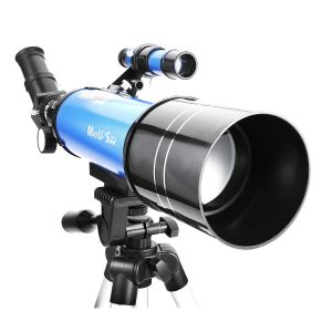 5 MaxUSee 70mm Refractor Telescope for Kids