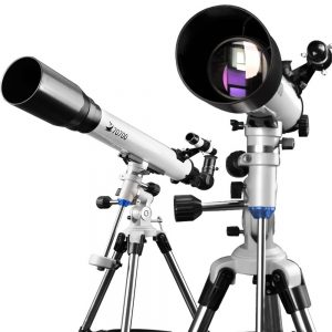 7 DoubleSun Telescope with Equatorial Mount-Refractor Scope