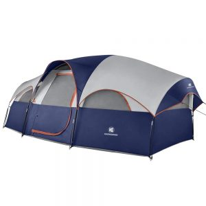 2- HIKERGARDEN Topmount 8 Person Tent