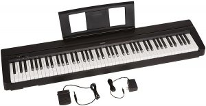 1-Yamaha P71 88-Key Weighted Action Digital Piano w Pedal
