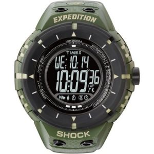 4-Timex Expedition Shock Digital Compass Watch