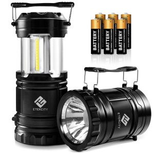 Etekcity 2 Pack LED Camping Lantern Battery Powered