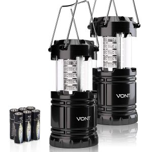 ont 2 Pack LED Camping Lantern