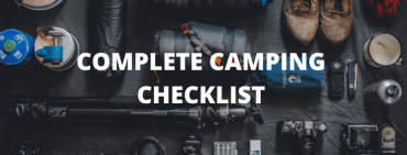 Complete Checklist for Camping - Beginner