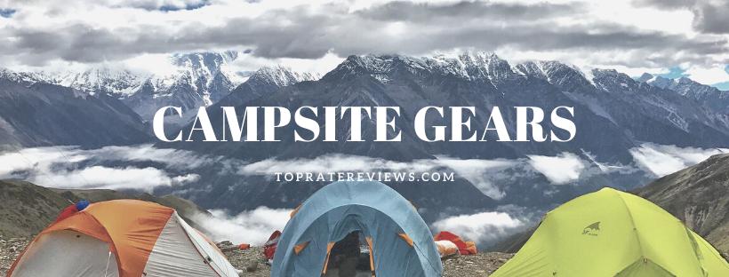 Camping Checklist - CAMPSITE GEAR