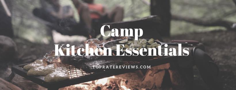 Camping Checklist - Camp Kitchen Essentials