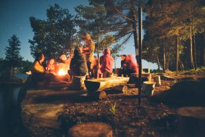 camping with your family and friends