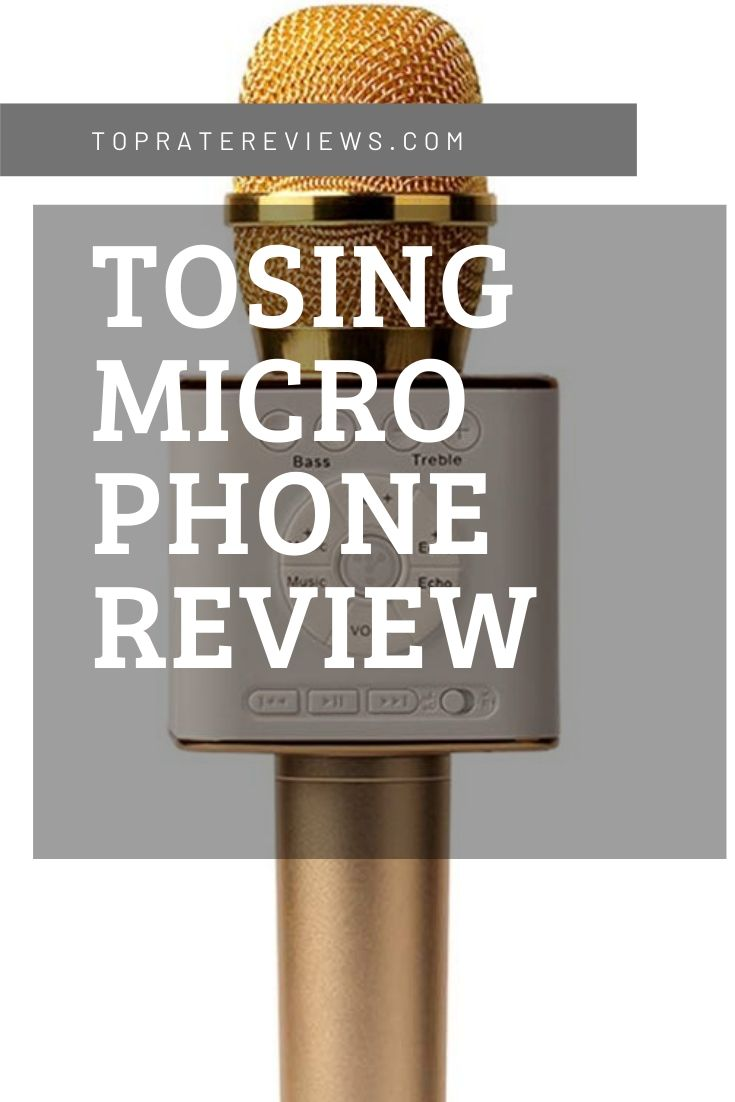 TOSING Microphone Review