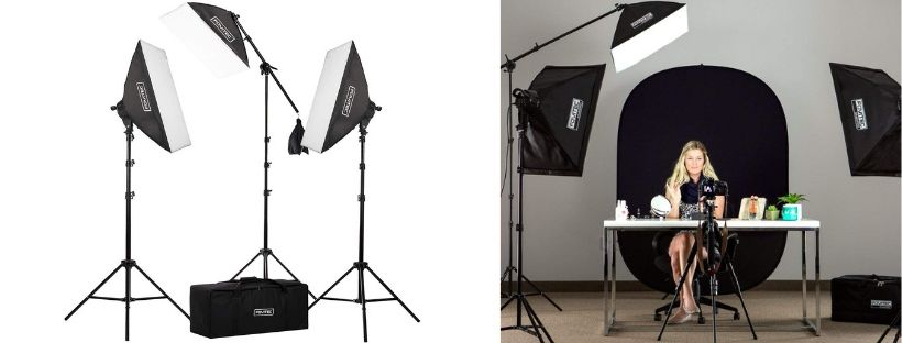 Fovitec Studio Pro Lighting Kit