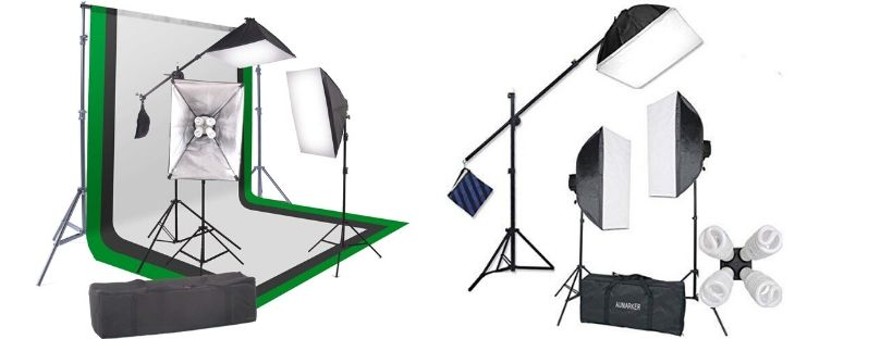 StudioFX 2400-Watt Softbox Continuous Photo Lighting Kit