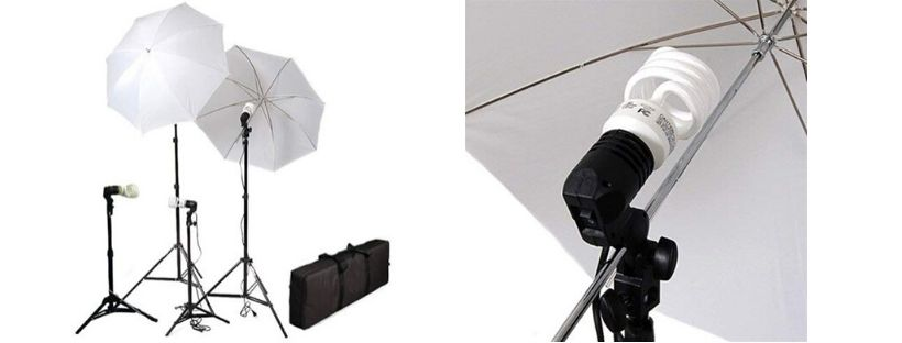 Cowboystudio 4 Piece Continuous Photography Video Studio