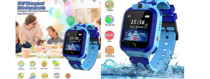 SZBXD Kids Waterproof Smart Watch GPS