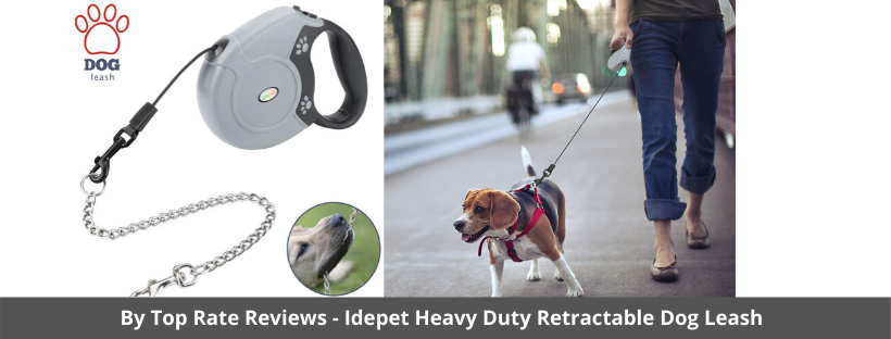 Idepet Heavy Duty Retractable Dog Leash