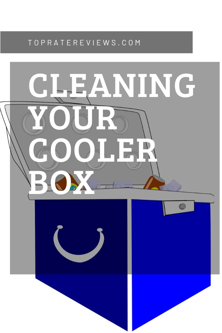 clean out a stinky cooler