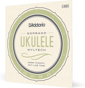D'Addario EJ88S Nyltech Ukulele Strings