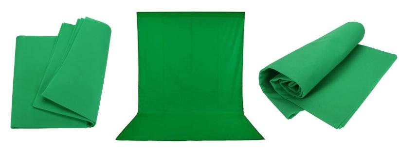 Andoer FT Photography Studio Non-Woven Green Backdrop