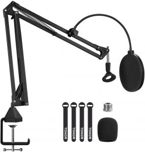 TONOR Adjustable Suspension Boom Mic Stand