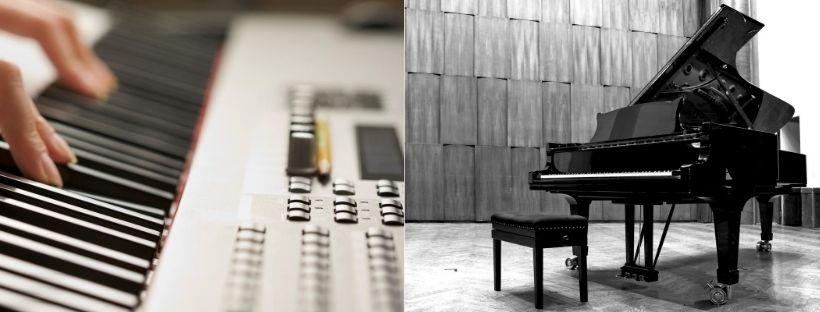 digital vs acoustic piano