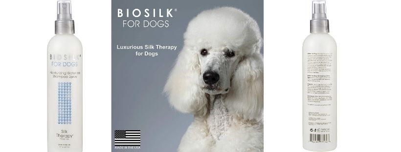 Biosilk for Dogs - Silk Therapy Deep Moisturize Waterless Shampoo Spray