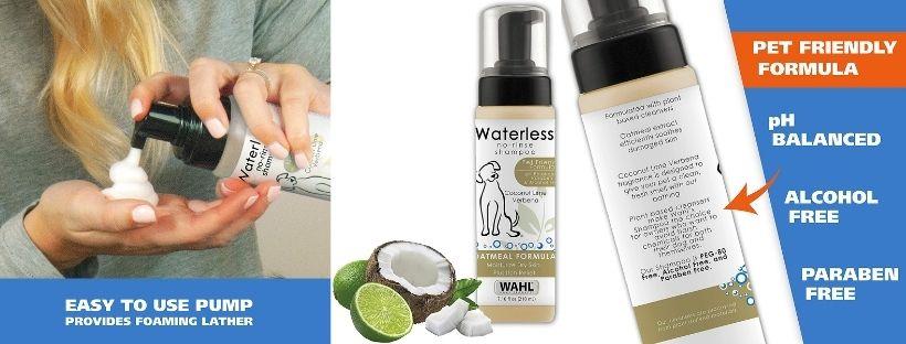 Wahl Pet-Friendly Waterless No Rinse Shampoo