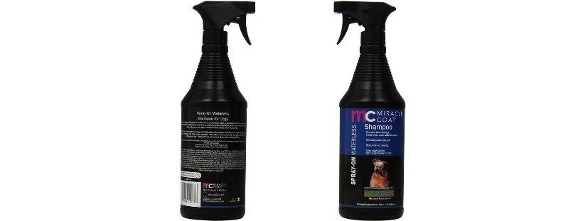 Miracle Coat Spray Waterless Dog Shampoo