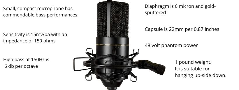 MXL 770 Mic Features