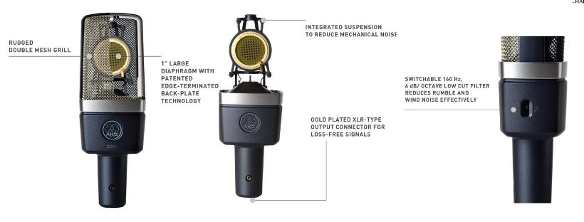 AKG C214 Features