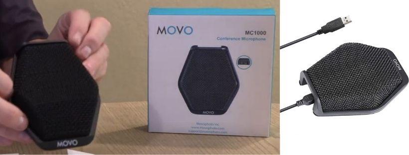 Movo MC1000 Conference USB Microphone