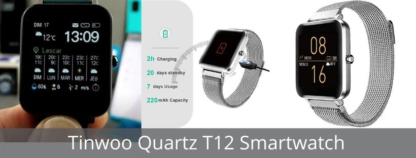 Tinwoo Quartz T12 Smartwatch