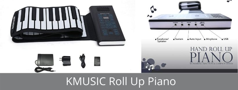 KMUSIC Roll Up Piano