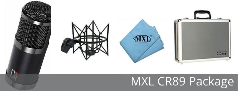CR89 mic package