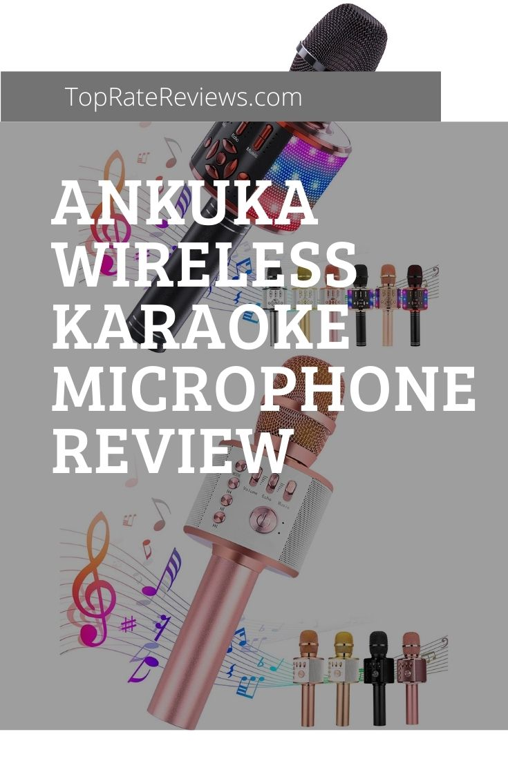 ankuka wireless karaoke microphone