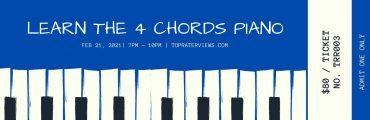 4 chords piano