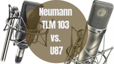 Neumann TLM 103 vs. U87