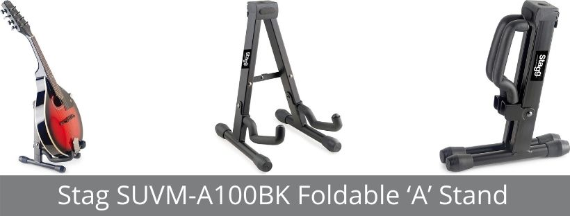 Stag SUVM-A100BK Foldable A Stand