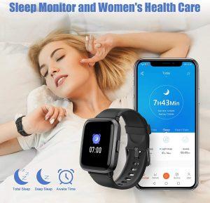 Aikela Smartwatch Sleep Monitoring