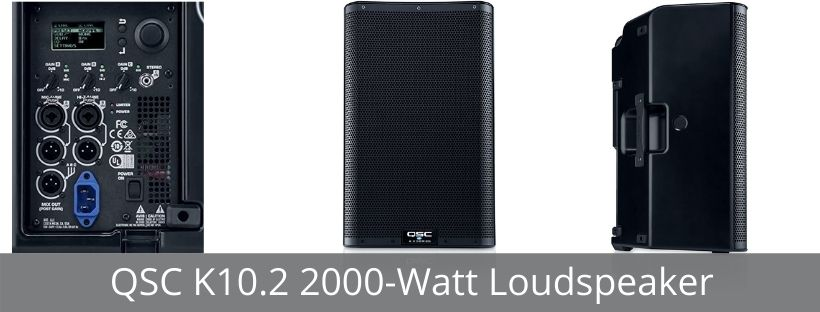 QSC K10.2 2000-Watt Loudspeaker
