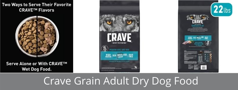 Crave Grain Adult Dry Dog Food