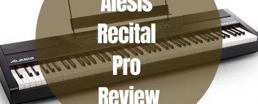 Alesis recital pro review