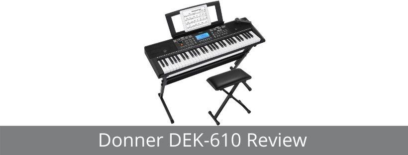 Donner DEK-610 Review