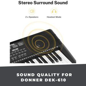 Donner Dek 610 sounds