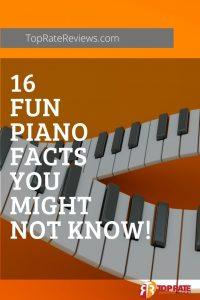 fun piano facts