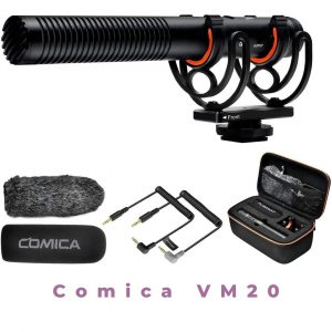 Comica VM20 Shotgun Microphone