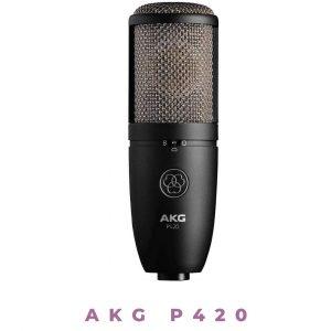 AKG P420 Multi-Pattern XLR Condenser Mic