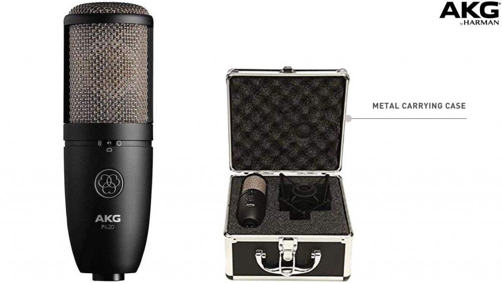 AKG P420 condenser mic package