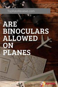 binoculars allowed on planes