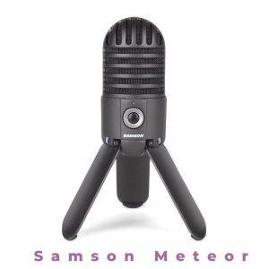 2. Samson Meteor Mic USB Studio Microphone