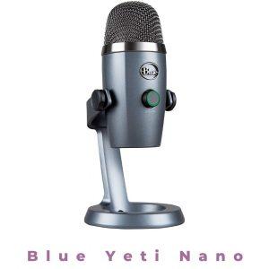 3. Blue Yeti Nano USB Microphone