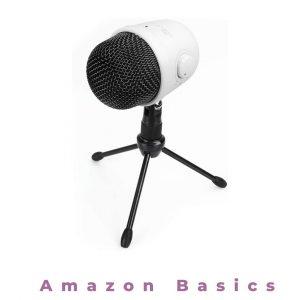 Amazon Basics Desktop Mini Condenser Mic